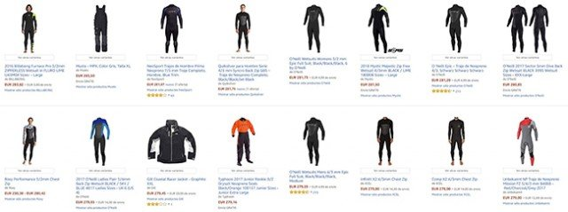 Trajes kite de amazon