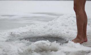 hielo desnudo