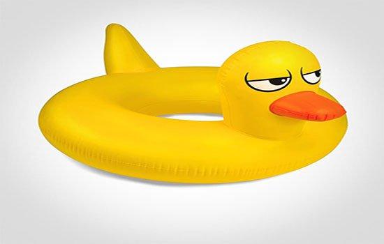 flotador de pato