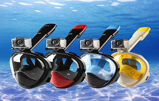 nuevas gafas de snorkel