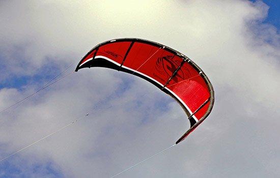 cometa de kitesurf