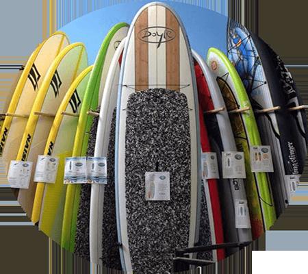 muchas tablas de paddle surf sup