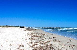 playa relajante para descansar