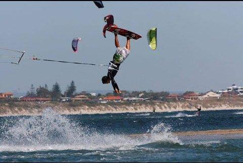 accidente de kite