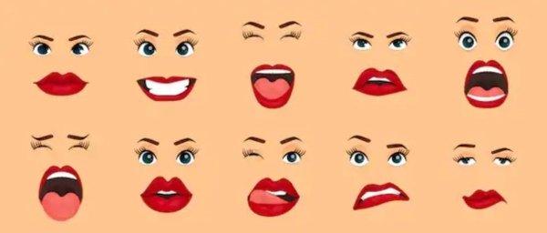 Todos los gestos faciales que existen