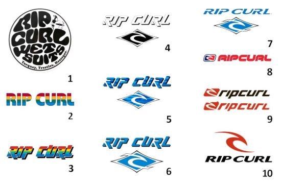 Actualizaciones del logo de Rip Curl