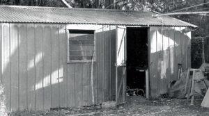 Garaje donde comenzaron a trabajar los creadores de Rip Curl